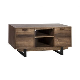 TV laud SOHO 2-ukse ja riiulitega 140x40xH55cm, pähkel