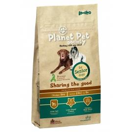 Planet Pet Society koeratoit kana-riisi eakatele koertele 6kg