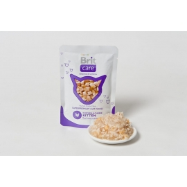 Brit Care Chicken & Cheese Kitten kassikonserv 24x80g