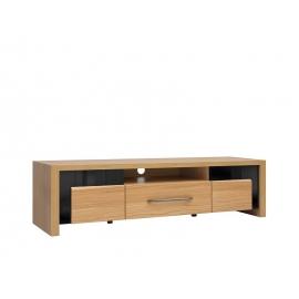 TV-alus AROSA tamm / must, 160x45xH42,5 cm