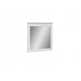 Peegel ROMANCE valge / tamm, 96x3,8xH91,5 cm