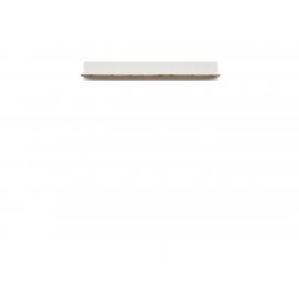 Seinariiul valge / tamm, 156x24xH22 cm