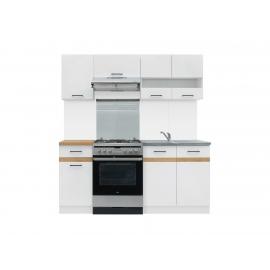 Köögimööbli komplekt JUNONA LINE 180 cm valge