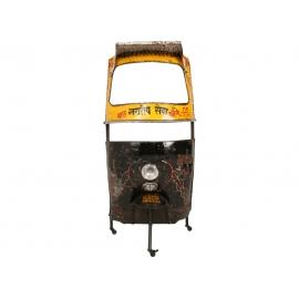 Baarilett CRAZY kollane / must, 99x56xH178 cm