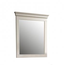 Seinapeegel BOZEN valge, 76x5xH90 cm