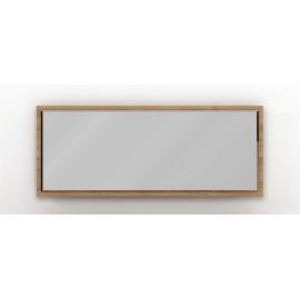 Seinapeegel RUBIN tamm, 150x2,2xH60 cm