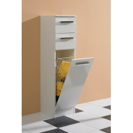 Vannitoakapp TRIER valge, 30x33xH119 cm