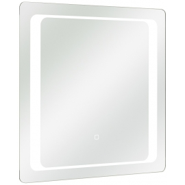 Peegel RÜDESHEIM 70x3xH70 cm, LED