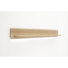 Seinariiul SANTORI tamm, 180x22xH24 cm