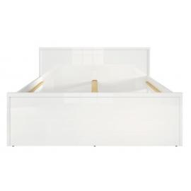 Voodi PORI valge läige, 149x208xH46/81 cm