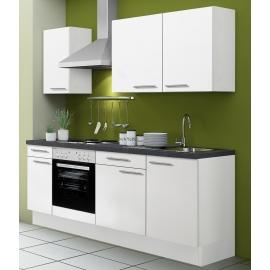 Köögikomplekt OPTIkoncept valge 210 cm