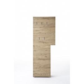 Garderoobipaneel VICENZA tamm, 70x29xH190 cm