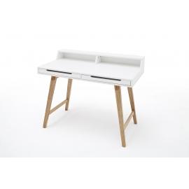 Kirjutuslaud TIFFY valge / pöök, 110x58xH85 cm