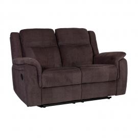Diivan NORMAN 2-kohaline recliner 160x99xH102cm, pruun