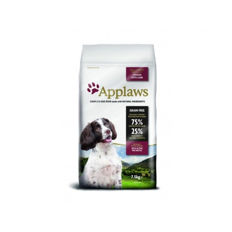 Applaws Adult small&medium Chicken&Lamb koeratoit 7,5kg