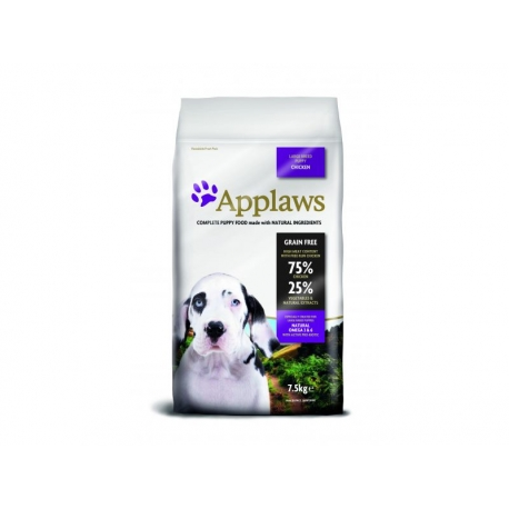 Applaws Puppy Chicken Large koeratoit 7,5kg