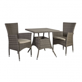 Aiamööbli komplekt PALOMA laud ja 2 tooli
