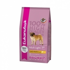 Eukanuba Medium Light koeratoit 15kg