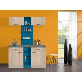 Köögikomplekt OPTIkontrast valge 120 cm