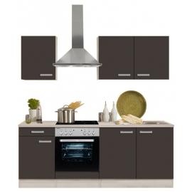 Köögikomplekt OPTIflexx 210 cm valge või antratsiit
