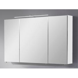 Peegelkapp OPTIbasic 4060 valge läikega, 120x17,6xH72 cm LED