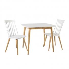 Söögilauakomplekt SIMPLE 2-tooliga